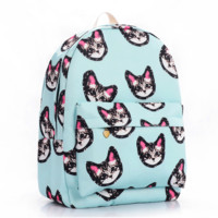 Cats Canvas Backpack = 4887984324
