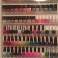 96 Bottle Nail Polish Wall Rack Display