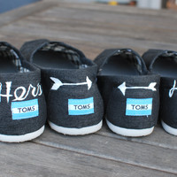 His & Hers Wedding TOMS