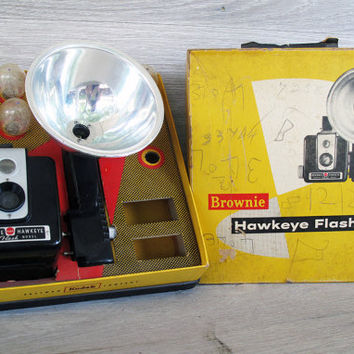 Vintage Brownie Hawkeye Flash Model Camera Kodak by LetterKay