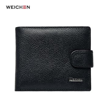 Credit Card Holder Wallet Man Genuine Leather Purse For Men Hasp Cards Wallets Male Pocket Brand Money Billfold Maschio Clutch