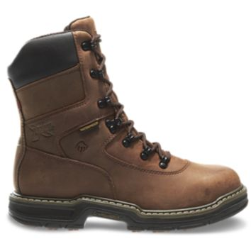 """Wolverine MARAUDER WATERPROOF STEEL-TOE EH LACE UP 8"""" 400G Insulated Work Boots"""