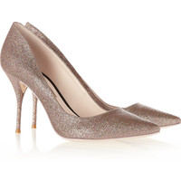 Sophia Webster | Lola glitter-finished pumps | NET-A-PORTER.COM