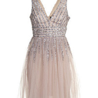 Dresses - YOUNG COUTURE BY BARBARA SCHWARZER - Fairy Sequin Nude