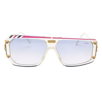Cazal Vintage Asymmetrical Purple and Pink Sunglasses 867 125
