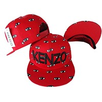 Perfect KENZO Women Men Embroidery Sports Sun Hat Hip Hop Baseball Cap Hat