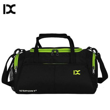 Training Gym Bags Fitness Travel Outdoor Sports Bag Handbags Shoulder Dry Wet shoes For Women Men Sac De Sport Duffel  XA77WA