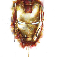 Iron Man Art Print by Beart24