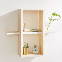 Sofia Rectangle Wood Shelf | Urban Outfitters