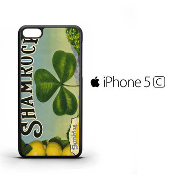 Vintage Shamrock A1340 iPhone 5C Case