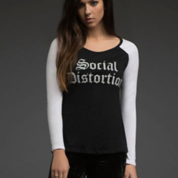 Social Distortion Raglan Tee