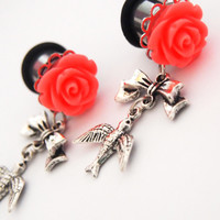 Glamsquared — Fly Away Steel Dangle Plugs