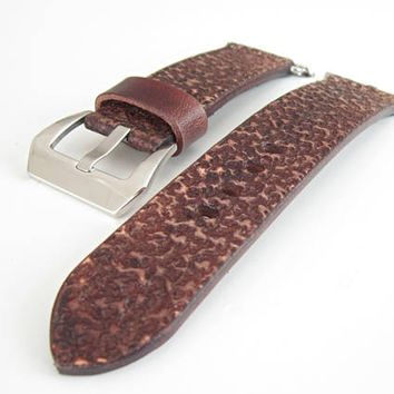 Vintag Brown Apple Watch Strap, 24mm Apple Watch Strap