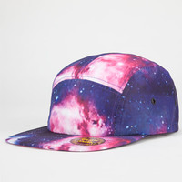 Cosmic Glow In The Dark Mens 5 Panel Hat Black Combo One Size For Men 22779314901