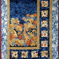 Quilted  Wall Hanging - Oriental