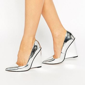 ASOS PULSE Pointed Wedges at asos.com