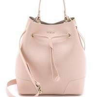 Stacy Drawstring Bucket Bag