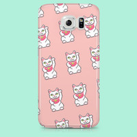 LUCKY CAT iPhone SE case, iPhone 6 case, iPhone 6s case, iPhone 5 case, iPhone 5c case, iPhone 6 Plus case, iPhone 6s plus case, kawaii,