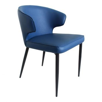 Decca Dining Chair Blue-Set Of Two