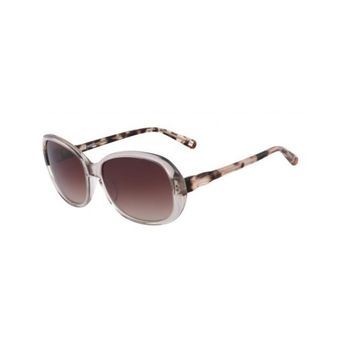 Nine West Womens Gradient Oversized Rectangle Sunglasses