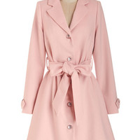 ModCloth Pastel Long Long Sleeve Creative Consultant Coat