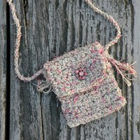 Blush - A Handmade Spirit Pouch Created with Love and Reiki