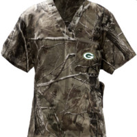 Green Bay Packers Camouflage Scrubs