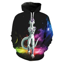 Frieza In Space Dragon Ball Z Hoodie