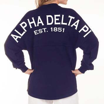 Alpha Delta Pi Est. 1851 Spirit Football Jersey™ - SHOP