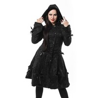 Alice Coat - Black Rose :: VampireFreaks Store :: Gothic Clothing, Cyber-goth, punk, metal, alternative, rave, freak fashions