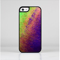 The Vivid Neon Colored Texture Skin-Sert Case for the Apple iPhone 5c