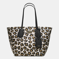 Coach Taxi Tote in Ocelot