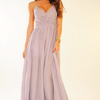 RESTOCK: Wherever Love Goes Dress: Lavender