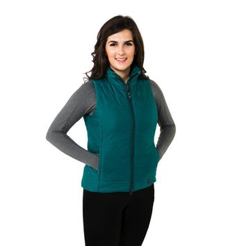Noble Outfitters Ladies Calgary Vest - Shaded Spruce
