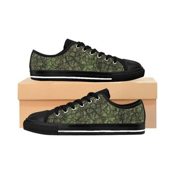 Men's Sneakers Earth Scale Print shoes