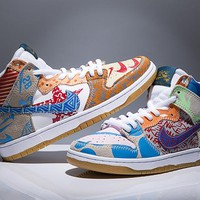"Nike SB Dunk Hi P TC ""What The Graffiti"" 918321-381"