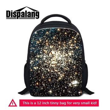 Boys bookbag trendy Dispalang Pretty Backpack for Student Starry Sky Pattern on Little Daily bag for Preschool Children  for Boy Girl's Gifts AT_51_3