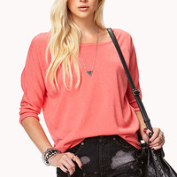 Relaxed Drop Shoulder Sweater