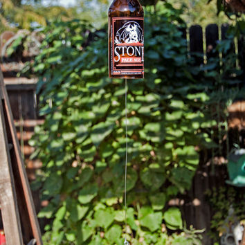 Stone Pale Ale Beer Bottle Wind Chim