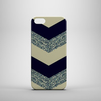 GREY GLITTER CHEVRON Phone Case for iPhone and Galaxy phones