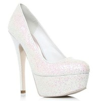 White Ramona High Heel Shoes at debenhams.com