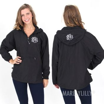 Best Monogrammed Pullover Rain Jacket Products on Wanelo