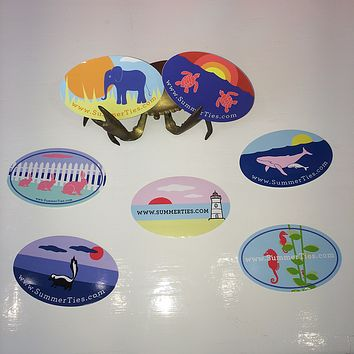 SummerTies Stickers