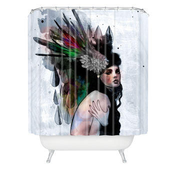 Deniz Ercelebi Mira Shower Curtain