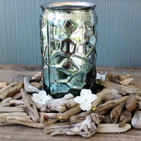 Nuggets of Natural Driftwood to Fill a Tray, 95 Pieces to Scatter for Beach Centerpiece ,Vase Filler & craft supplies  DN139