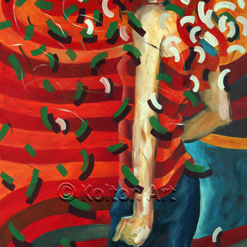 Figurative Painting Original Painting Oil Painting Figurative Art Contemporary Art Modern Art Woman Painting Wall Art Original Art Fine Art