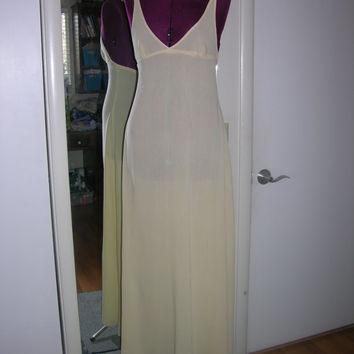Sheer Ivory Nightgown Vintage style