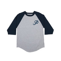 CLASSIC P RAGLAN - ATHLETIC-HEATHER/NAVY