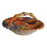 Roma Amor Centerpiece with Basket Handle