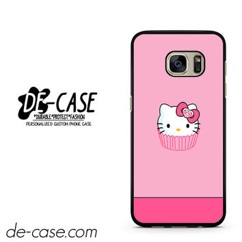 Pink Cake Hello Kitty DEAL-8648 Samsung Phonecase Cover For Samsung Galaxy S7 / S7 Edge